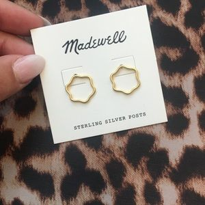 Madewell Gold Dainty earrings